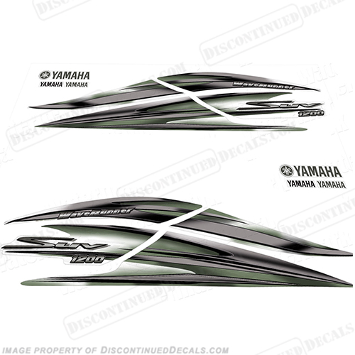Yamaha 2000 1200 SUV Decal Kit