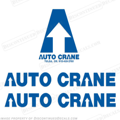 Auto Crane Decal Kit