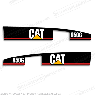 Caterpillar Loader 950G Decal Kit