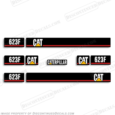 Caterpillar Loader 623F Decal Kit