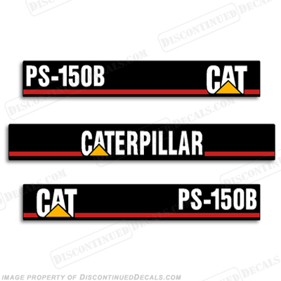 Caterpillar Loader PS-150B Decal Kit