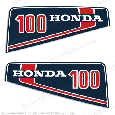 Honda 10hp 100 Decal Kit