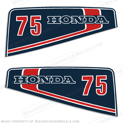 Honda 7.5hp Decal Kit