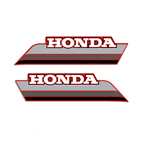 Honda 1985 ATC 250ES Fuel Tank Decals