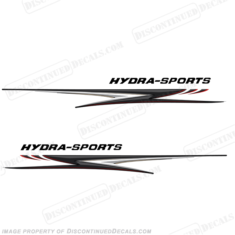 "Hydra-Sports Giant 118"" Long Graphics - Grey/Black"