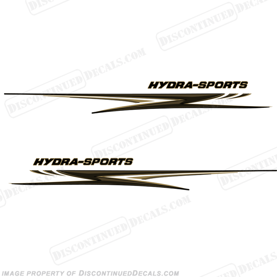 "Hydra-Sports Giant 118"" Long Graphics - Gold/Black"