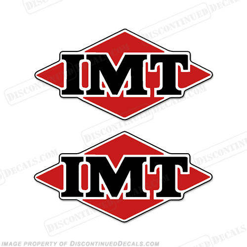 IMT Logo Decals (Set of 2)