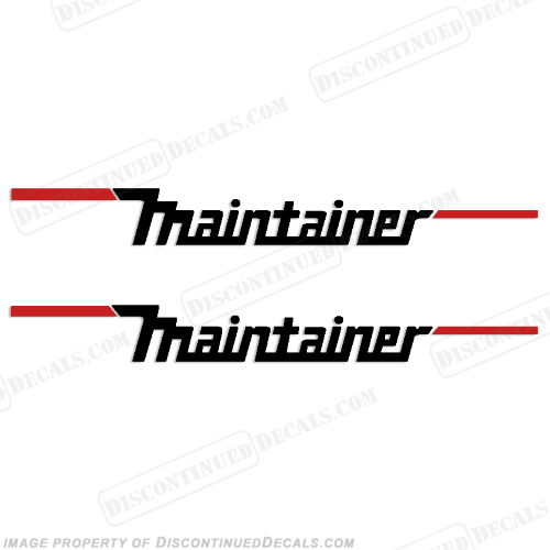 Maintainer Cranes Decals (Set of 2)