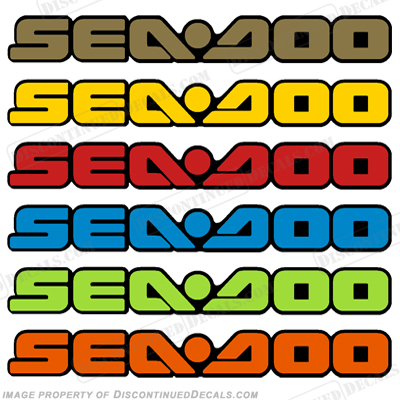 SeaDoo Decal - Choose Color!