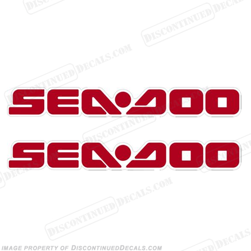 SeaDoo Decals fits 2005 RXT - Red/White