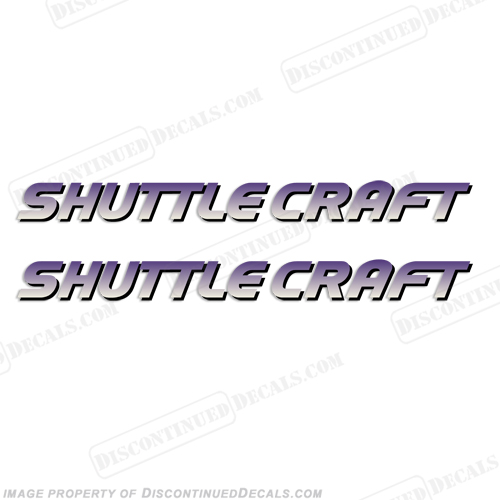 Shuttle Craft Decals - Set of 2