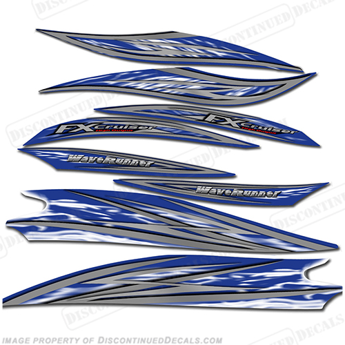 Yamaha 2005 FX160 High Output 4 Stroke Decal Kit