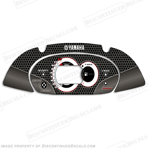 Yamaha FX HO PWC Speedometer Cover - Carbon Fiber