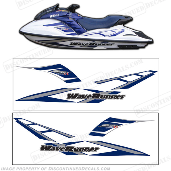 Yamaha 2001 GP1200R PWC Decals